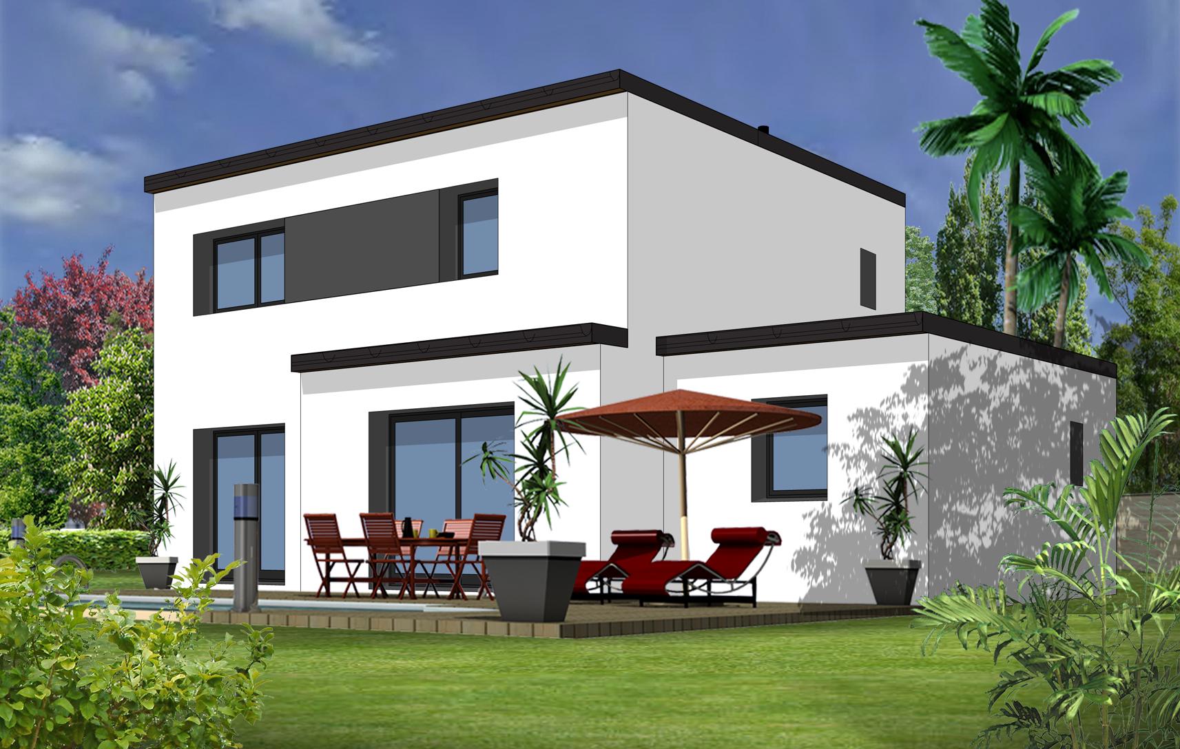 Modele maison maison fran ois fabie for Modele de maison avec garage