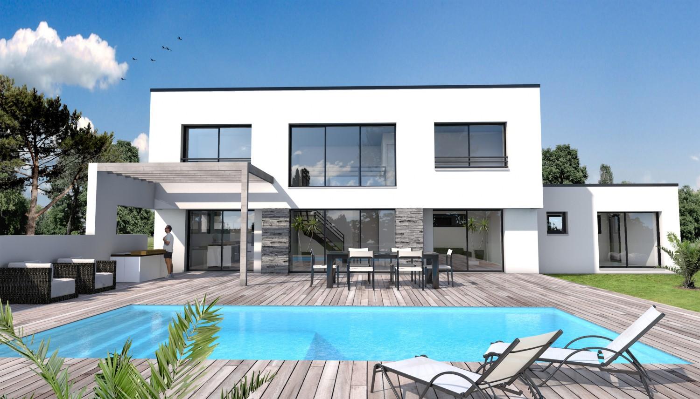 Maison de constructeur moderne maison fran ois fabie for Constructeur maison moderne toit plat