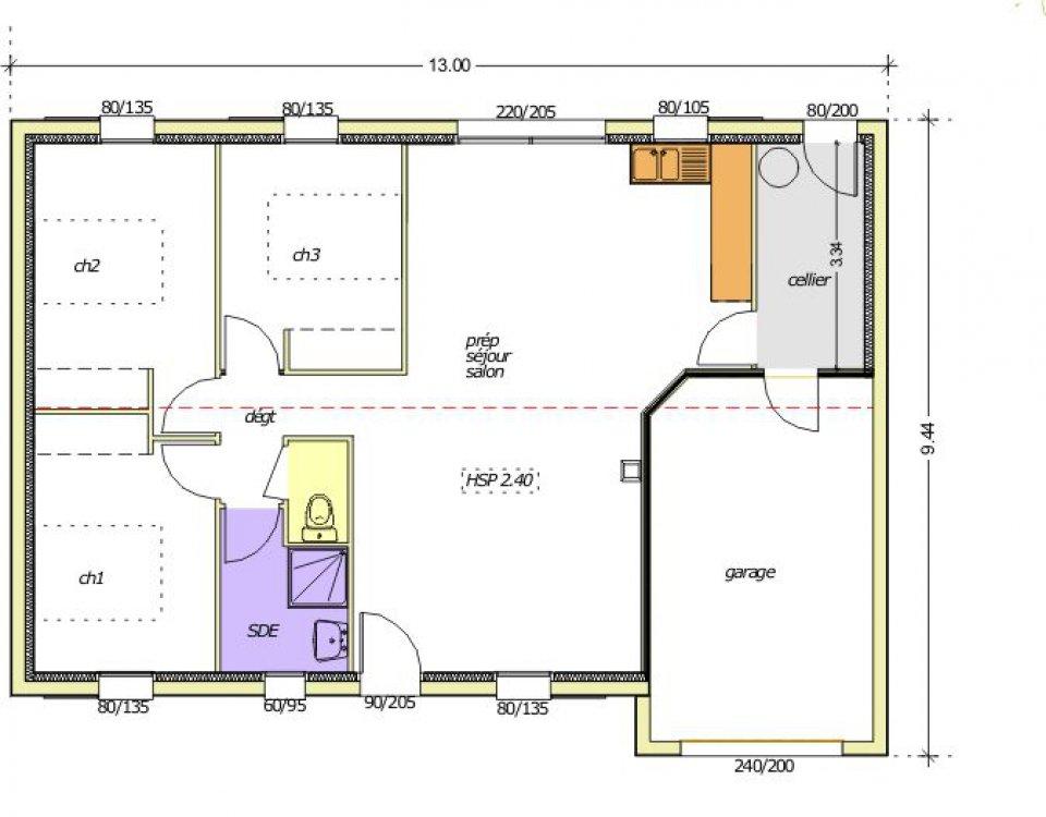 Les Plans Architecturaux Des Maisons  Maison Franois Fabie