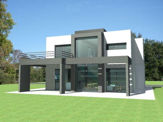 Plan maison villa basse moderne maison fran ois fabie for plan maison villa basse moderne