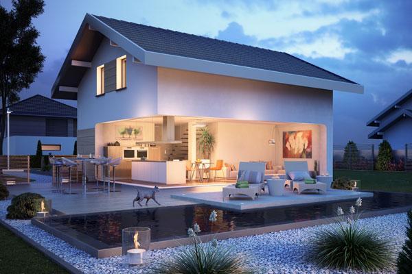 id e de maison a construire maison fran ois fabie. Black Bedroom Furniture Sets. Home Design Ideas