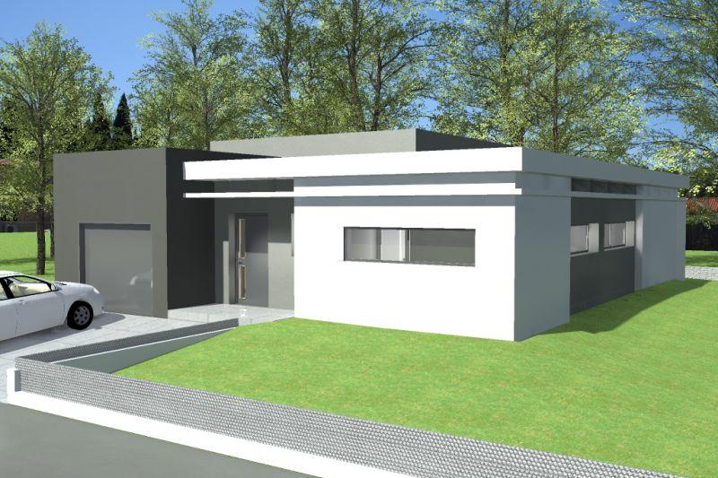 Beautiful Maison Cubique Moderne Plain Pied Gallery - Amazing House ...
