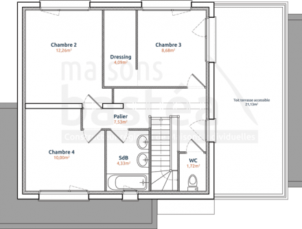 Cheap beautiful plan maison cube a etage with plan maison cube with plan maison cube