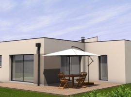 Plan maison moderne 120m2 maison fran ois fabie for Achat maison neuve idf