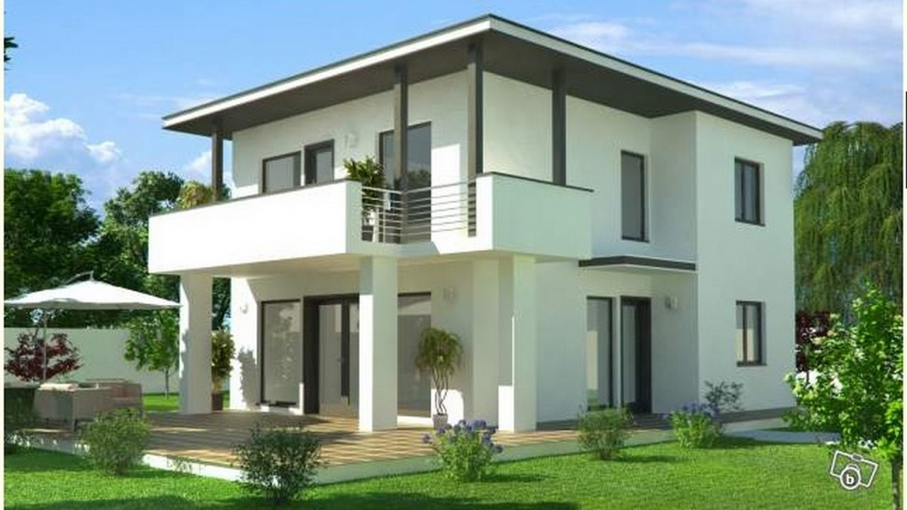 Architecture maison moderne maison fran ois fabie for Plan petite villa moderne