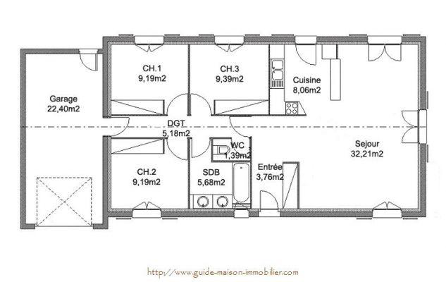 Idée plan de maison - Maison François Fabie