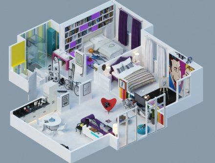Construire Sa Maison 3D. Good Maison D Interieur With Construire Sa