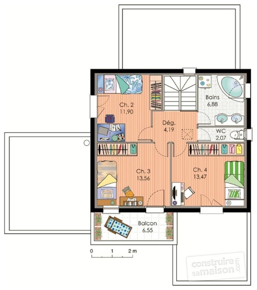 plan petite maison moderne maison fran ois fabie