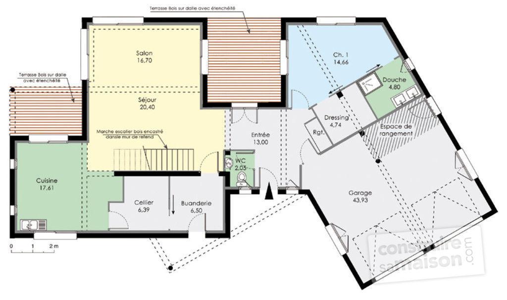 plan maison moderne maison fran ois fabie