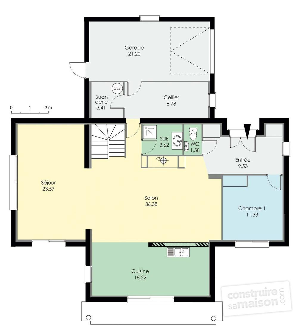 plan maison d architecte - Plan D Architecte De Maison