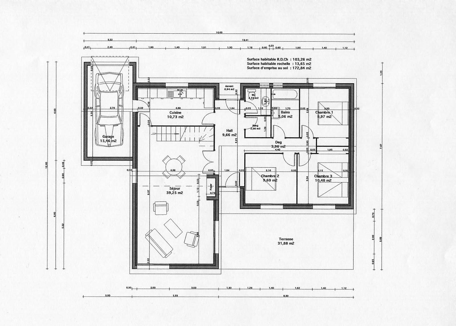 Les plans des villas modernes maison fran ois fabie for Les plans des villas modernes