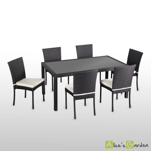Ensemble table et chaise exterieur pas cher - Maison François Fabie