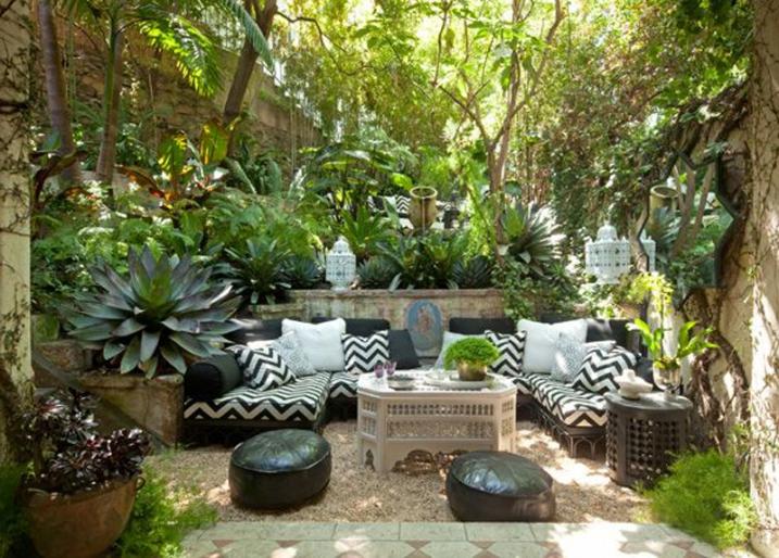decorer le jardin - Decorer Une Terrasse Avec Des Plantes