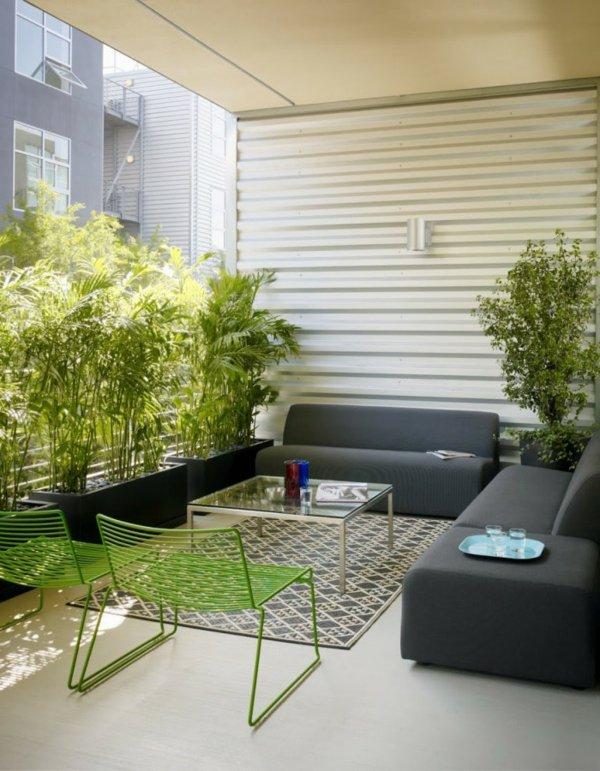 Decoration terrasse exterieure moderne - Maison François Fabie