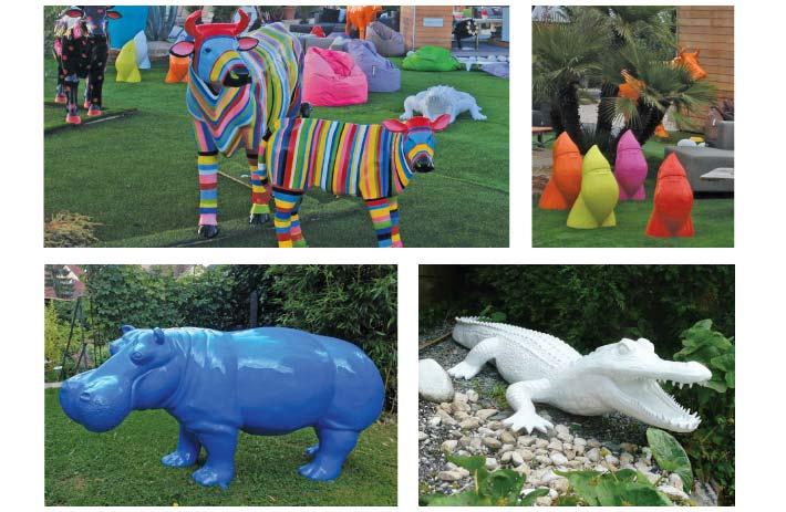 Décoration jardin animaux