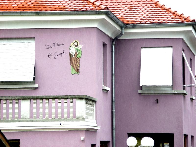 Decoration murale exterieure maison maison fran ois fabie for Decoration murale exterieure