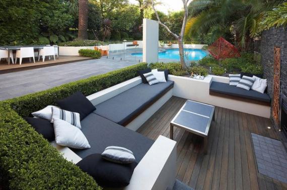 Deco exterieur jardin design - Maison François Fabie