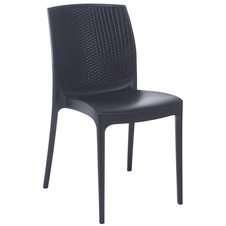Chaise de jardin résine tressée - Maison François Fabie