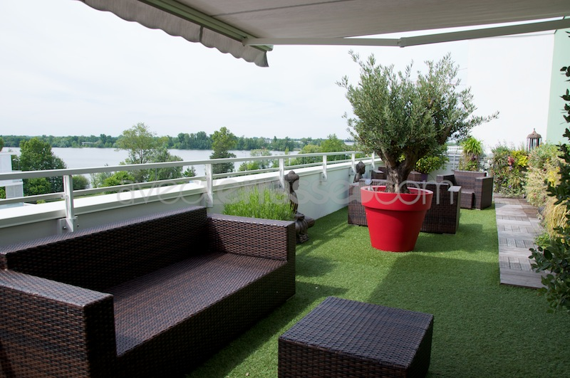 Decoration de terrasse maison fran ois fabie - Deco design appartement maxime jacquet ...