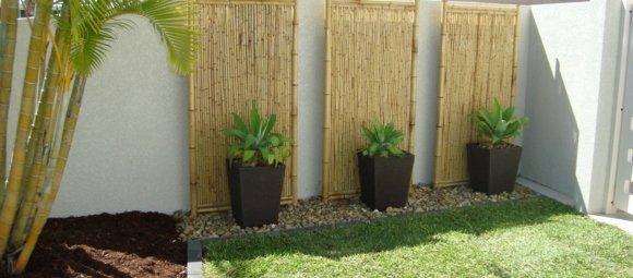 Déco jardin bambou - Maison François Fabie