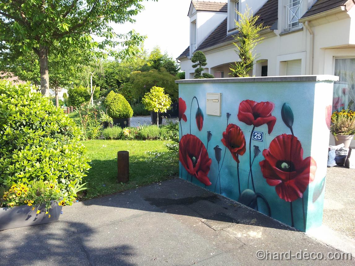 Decoration mur exterieur de maison - Maison François Fabie