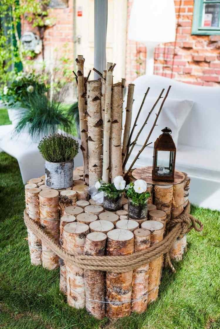 deco jardin bois - Decoration De Noel Exterieur En Bois