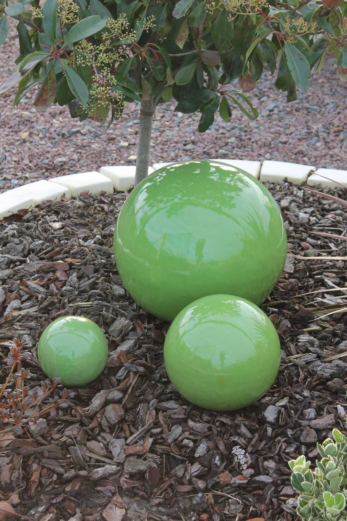 deco jardin boule