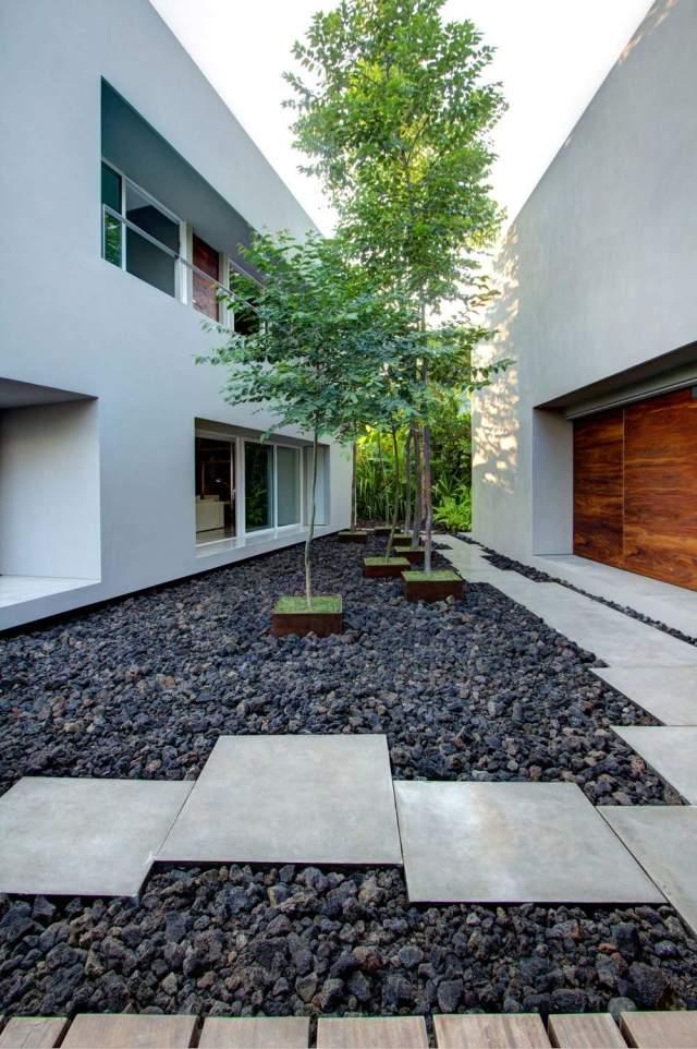 Idée aménagement extérieur maison - Maison François Fabie