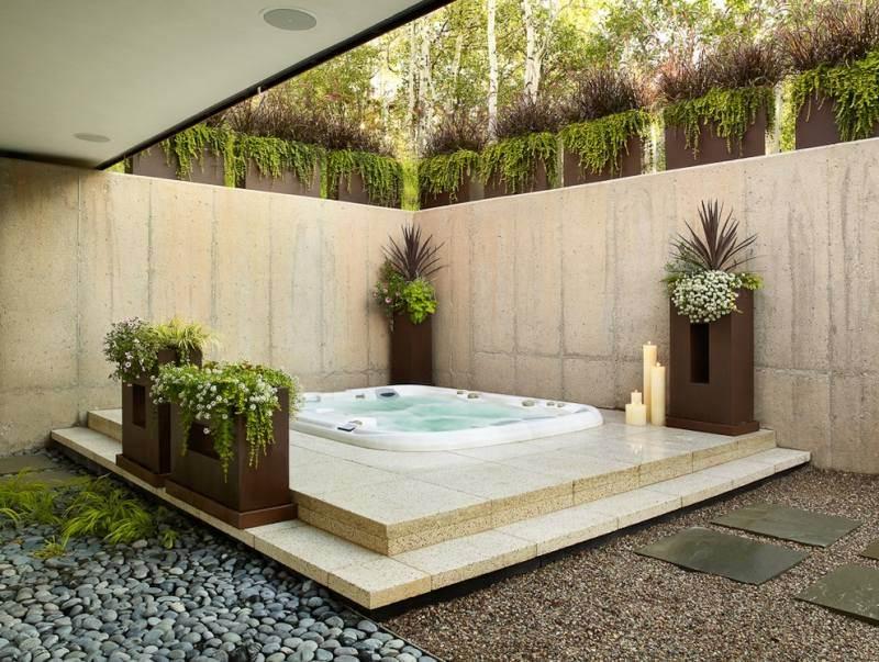 Idee deco jardin design - Maison François Fabie