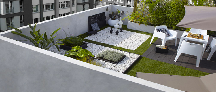Amenagement jardin terrasse free amnagement jardin for Idee amenagement terrasse jardin