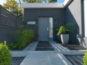 Decoration exterieur maison moderne panneau décoratif extérieur ...