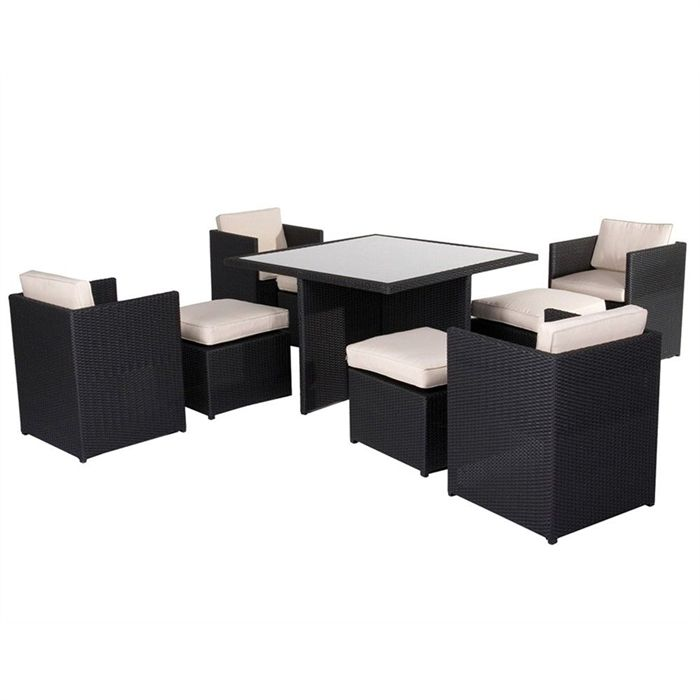 table de jardin leclerc maison fran ois fabie. Black Bedroom Furniture Sets. Home Design Ideas