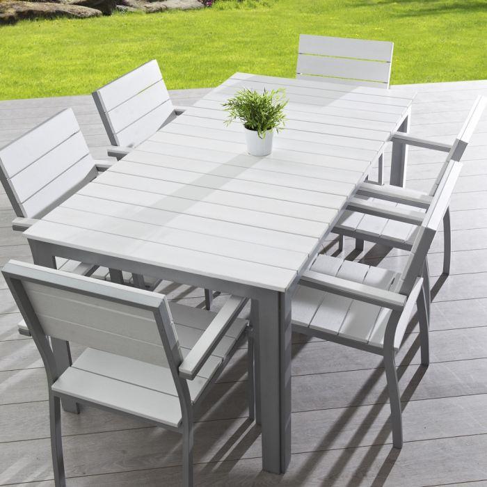 table jardin extensible pas cher maison fran ois fabie. Black Bedroom Furniture Sets. Home Design Ideas