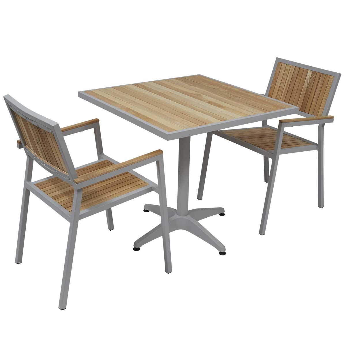 table et chaise de jardin bois maison fran ois fabie. Black Bedroom Furniture Sets. Home Design Ideas