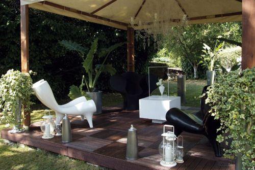 D coration jardin ext rieur design maison fran ois fabie for Deco jardin design