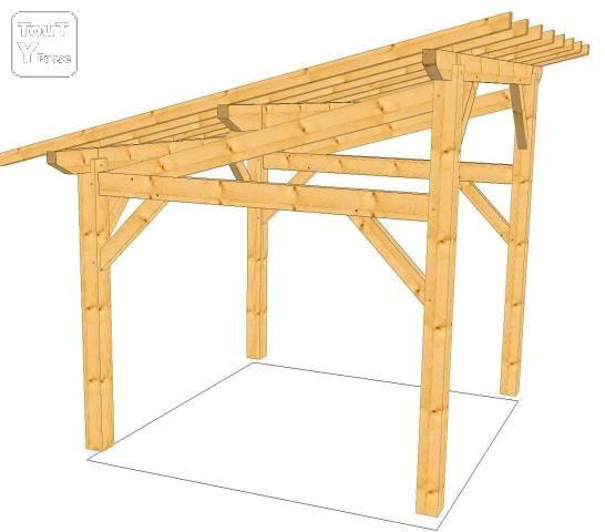 construire un garage en bois une pente maison fran ois fabie. Black Bedroom Furniture Sets. Home Design Ideas