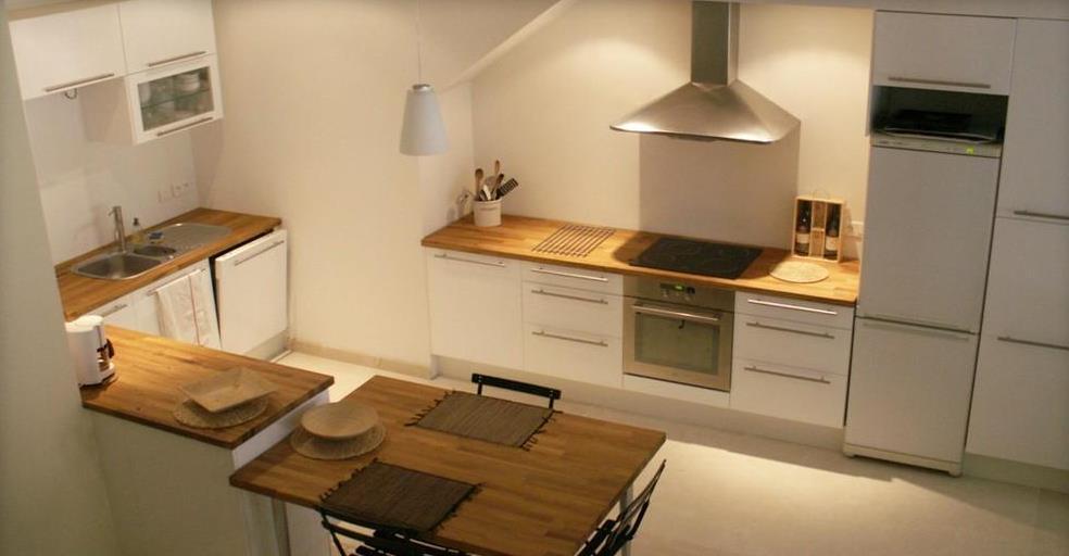 Cuisine Table Plan De Travail  Maison Franois Fabie
