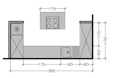 plan cuisine ilot maison fran ois fabie. Black Bedroom Furniture Sets. Home Design Ideas
