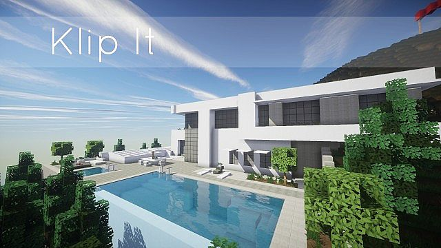 Beautiful Maison Moderne De Luxeminecraft Gallery - Design Trends ...