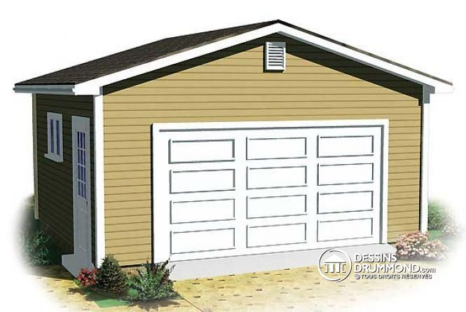 Dessiner un plan de garage gratuit maison fran ois fabie for Rona garage plans