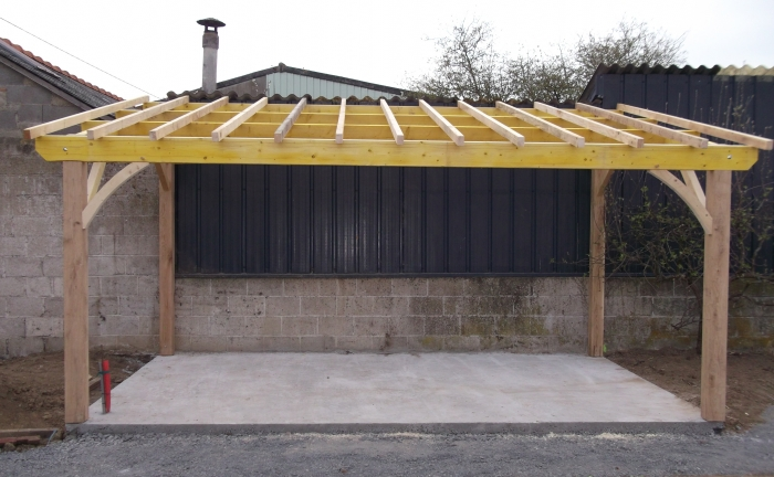 Plan Charpente Garage  Maison Franois Fabie