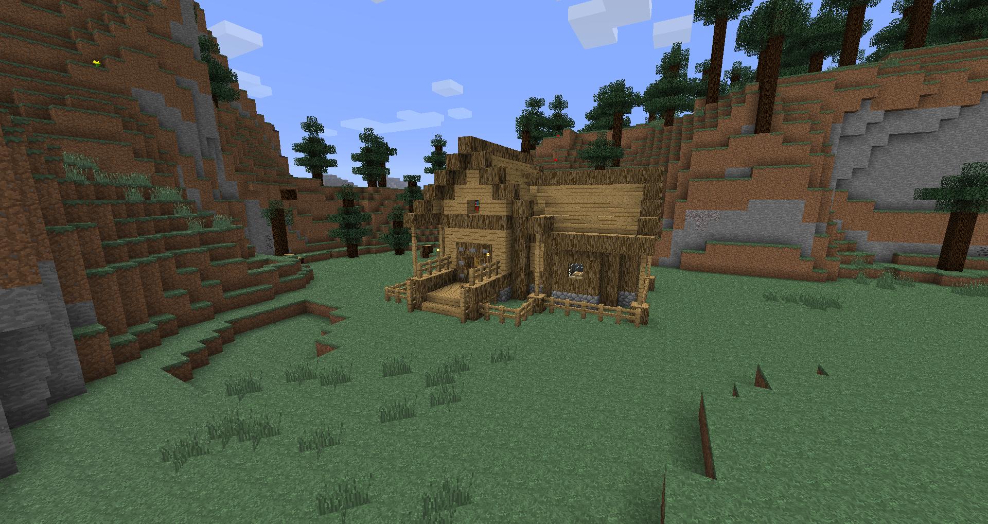 petite maison minecraft en bois maison fran ois fabie