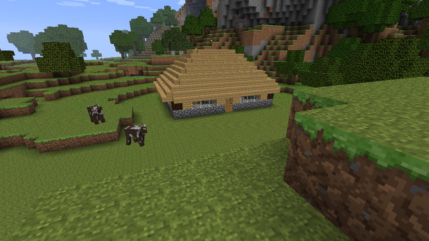minecraft petite maison en bois maison fran ois fabie. Black Bedroom Furniture Sets. Home Design Ideas