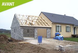 construction de garage en parpaing maison fran ois fabie. Black Bedroom Furniture Sets. Home Design Ideas