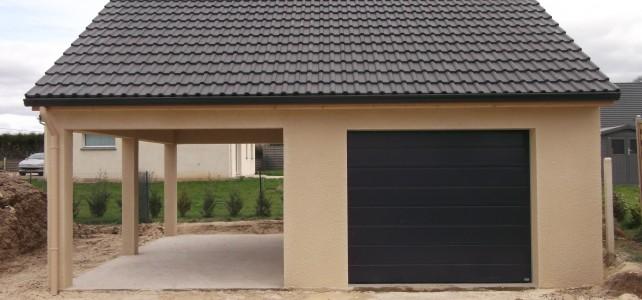 Garage en parpaing maison fran ois fabie - Comment construire un garage en parpaing ...