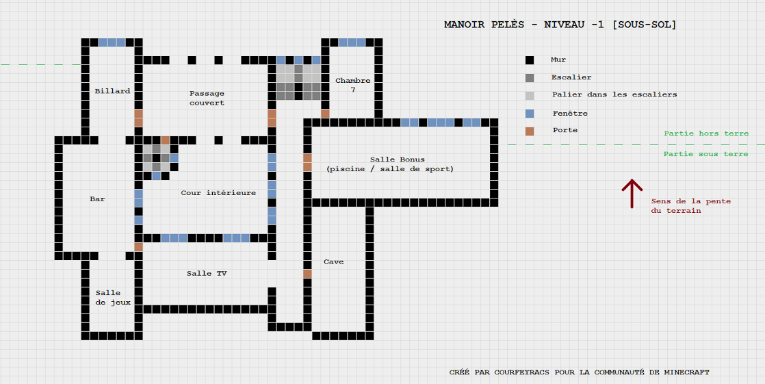 Awesome Cool Plan De Maison Moderne Minecraft With Maison Minecraft Plan De.
