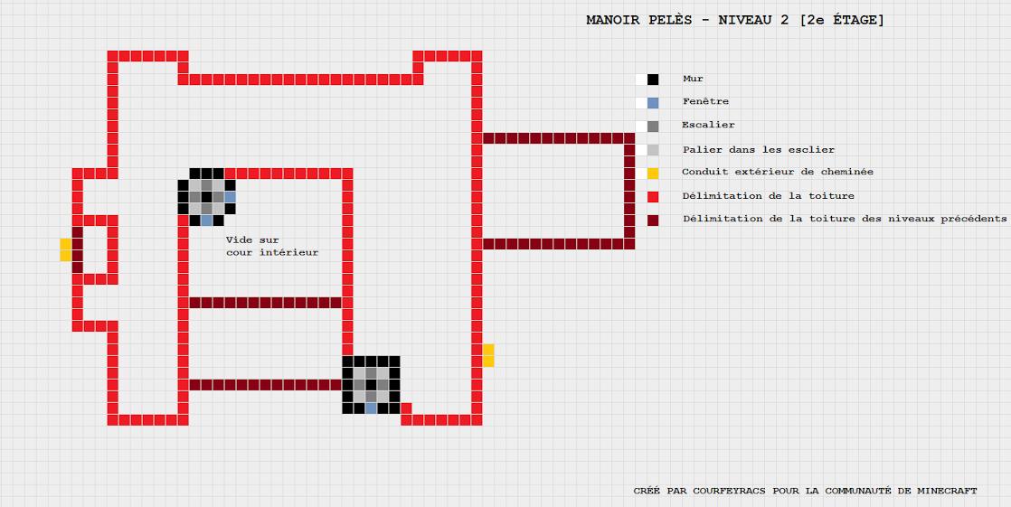cool plan de minecraft maison with minecraft maison plan - Bon Plan Construction Maison