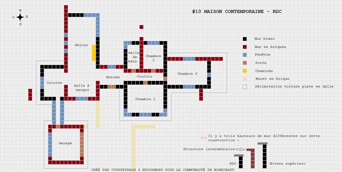 Minecraft Plan De Villa De Luxe : Plan de maison luxe perfect affordable best ideas