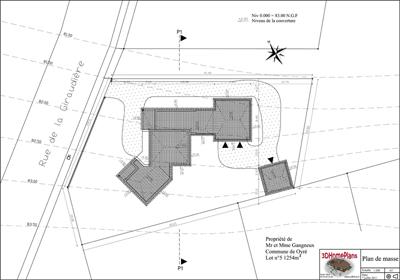 Exemple de permis de construire pour un garage maison for Exemple plan de masse