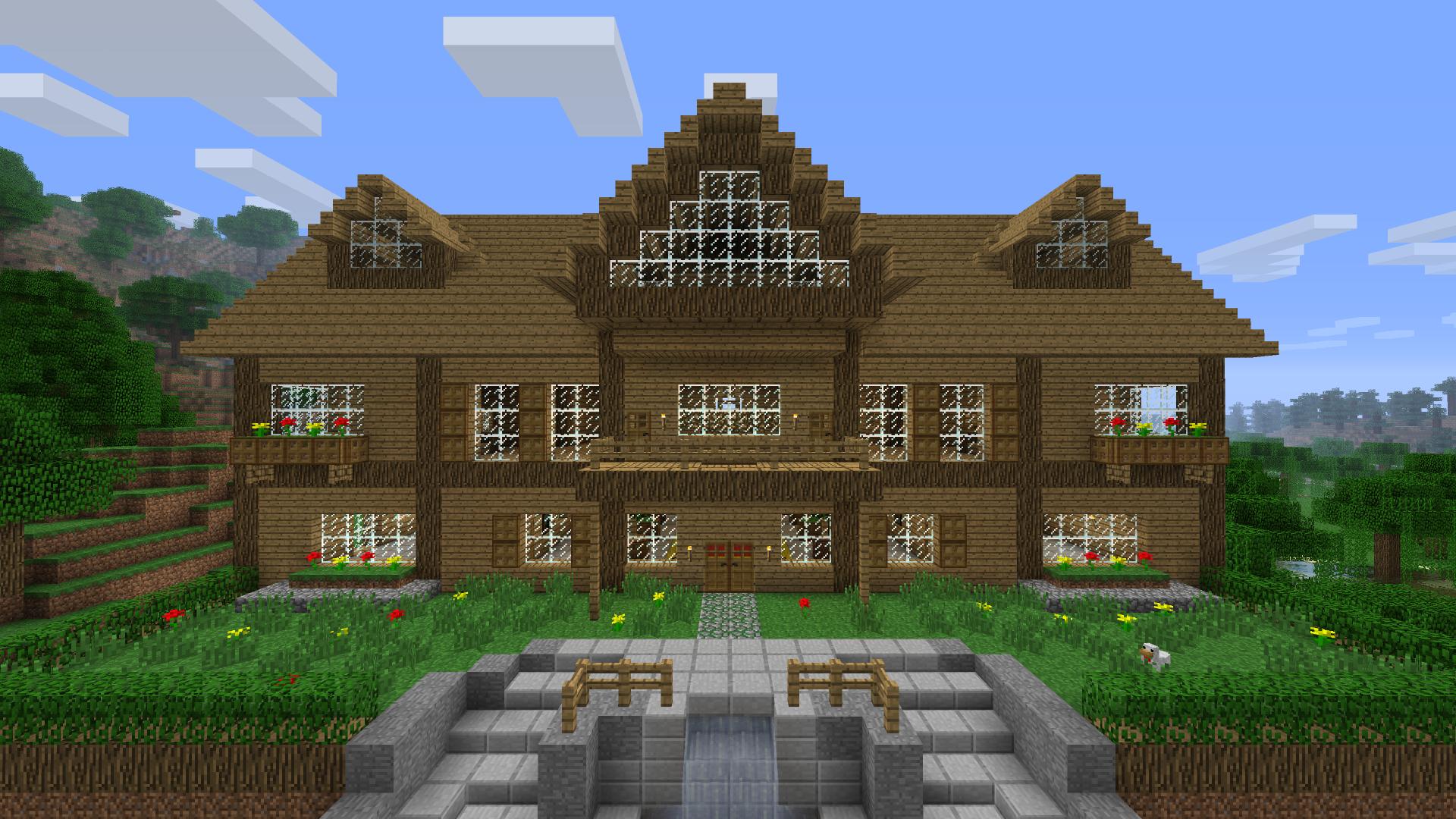 Photo de maison minecraft maison fran ois fabie - Voilage maison du monde ...